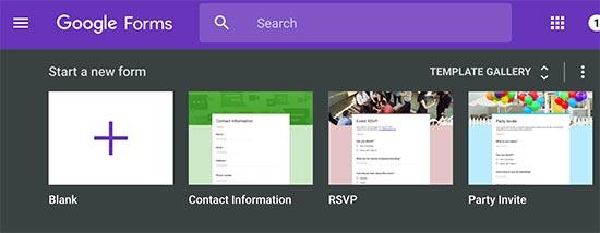 Embed Google Form