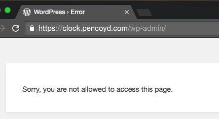 Sorry, you are not allowed to access this page.